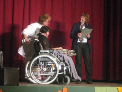 Szene: Rollstuhl